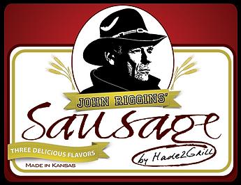 John Riggins' Sausage Logo