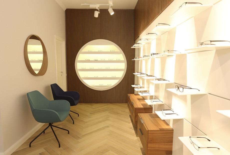 design interior magazin clinica ofta
