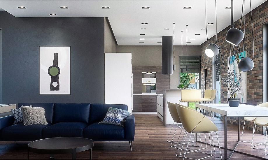 living dining bucatarie design interior ovidiu marian