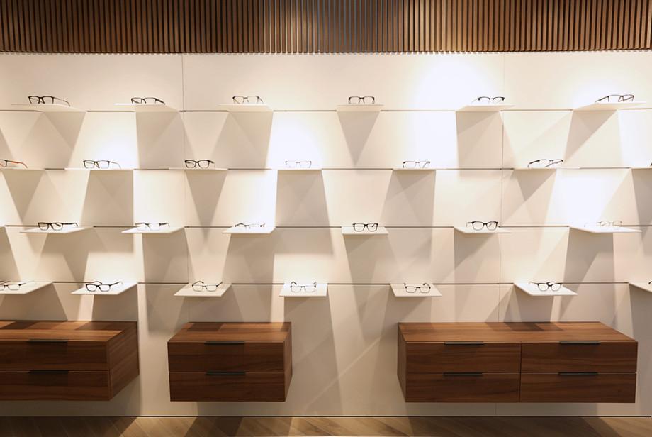 design interior magazin clinica ofta och