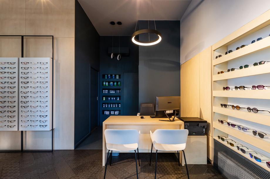 design interior magazin optica cluj napo