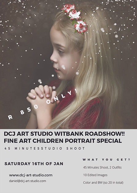 witbank roadshow fine art child portrait