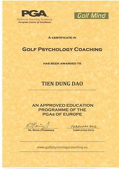 Golf Psychology Coaching