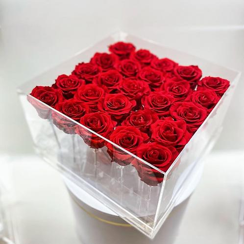 Twenty Five Rose Box