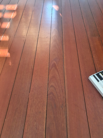 Natural Australian Hardwood Peeled Coating - After