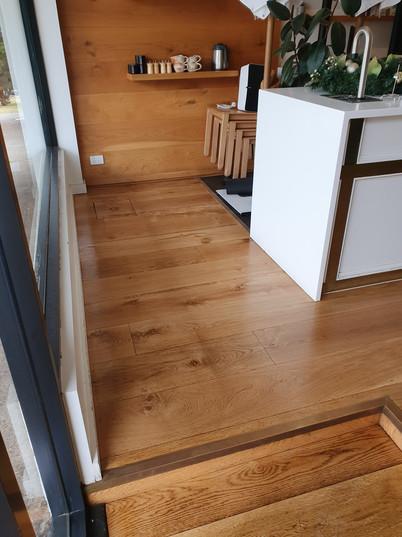 After Engineered Floor - Clear Coat