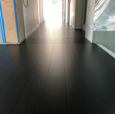 After Natural Merbau - Black Stain