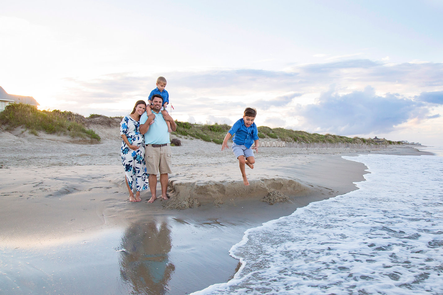OBX beach portraits by Katiedid Photography.  Outer Banks photographer