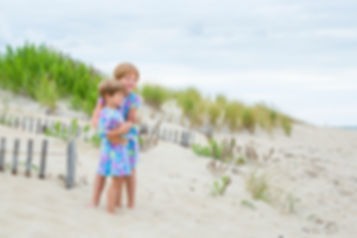 OBX beach portraits by Katiedid Photography at Jennette's Pier in Nags Head.  Outer Banks photographer.