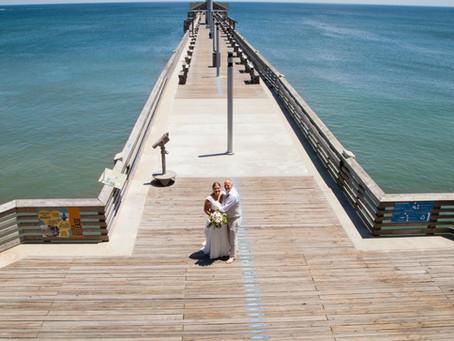 Lindsey & Adam | Jennette's Pier Wedding