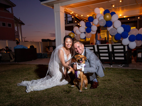 NuNu & Doug   Nags Head Wedding