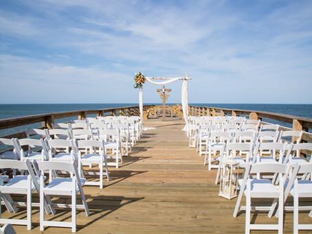 Stephanie & Ryan   Kitty Hawk Pier House Wedding