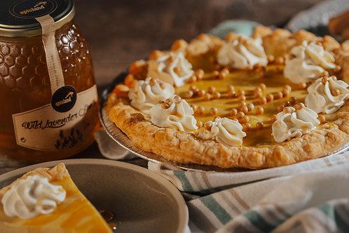 Salted Caramel Honey Pie