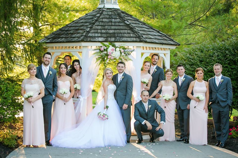 Gazebo Bridal Party Photos