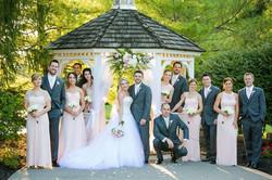 Gazebo Bridal Party Photos