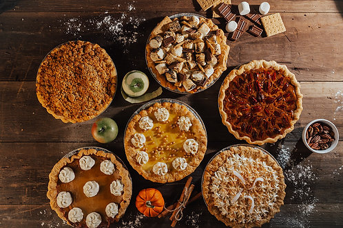 3 Pies of Any Combination for $50