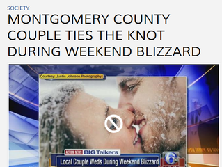 Montco Couple Ties The Knot During Blizzard - 6abc Action News