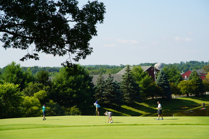 Golf at Blue Bell CC