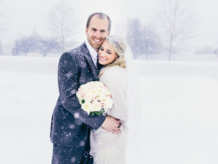 This Couple Married Mid-Blizzard And The Photos Made It All Worth It - Huffington Post