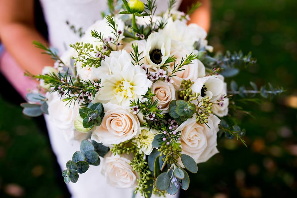 Willow & Thistle Wedding Bouquet