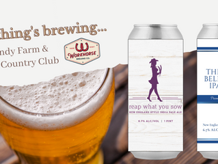 NORMANDY FARM TO PARTNER WITH WORKHORSE BREWING COMPANY TO RELEASES PRIVATE LABELED BEER