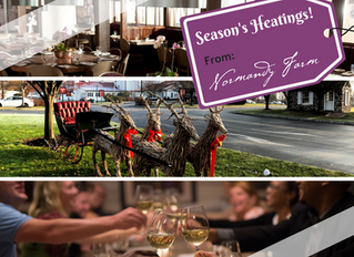 Season's Heatings at Normandy Farm Hotel
