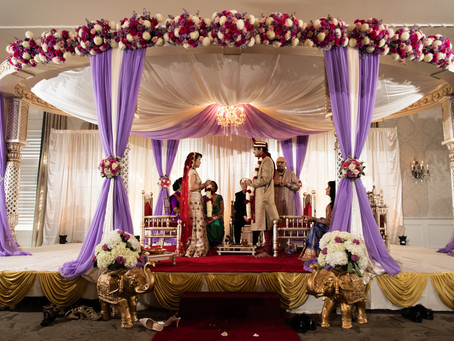 What To Expect at an Indian Wedding at The Belle