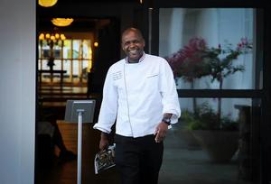 "Executive Chef Mtele ""Abu"" Abubakar the farmer's daughter Restaurant"