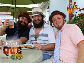 Looking for a Wild Time? The Animals Will Be Taking Over Our Craft & 'Que Event!
