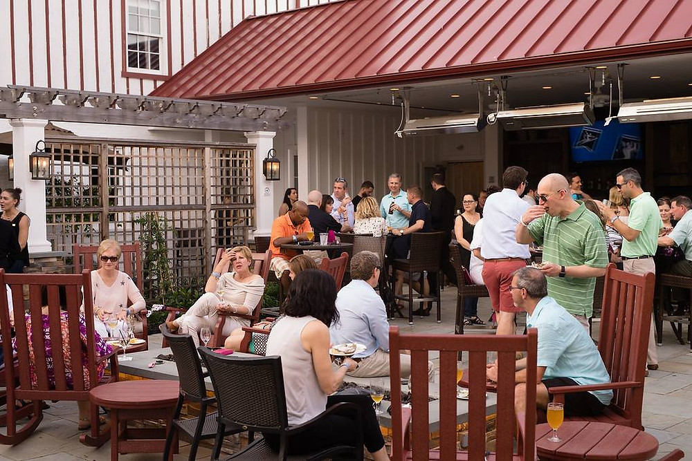 Corporate Happy Hour at Normandy Farm