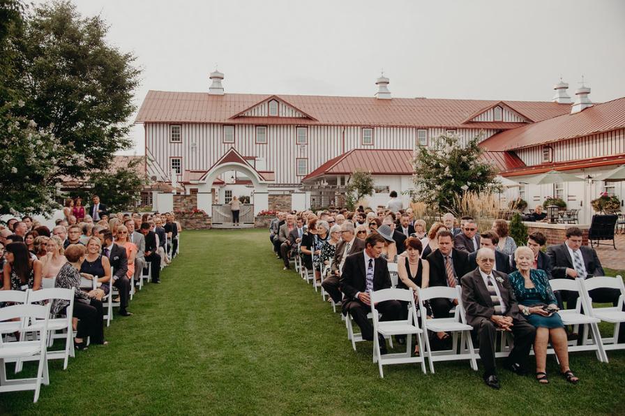 Ceremony at Normandy Farm