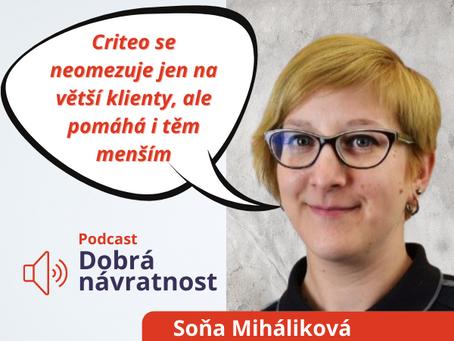 Soňa Miháliková: Criteo se neomezuje jen na větší klienty, ale pomáhá i těm menším.
