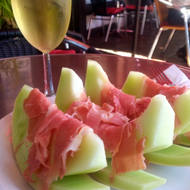 Melon with Prosciutto