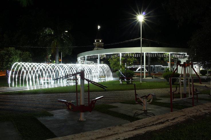 Praça Principal de Pompeia - SP