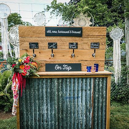 Beer Wall Rental