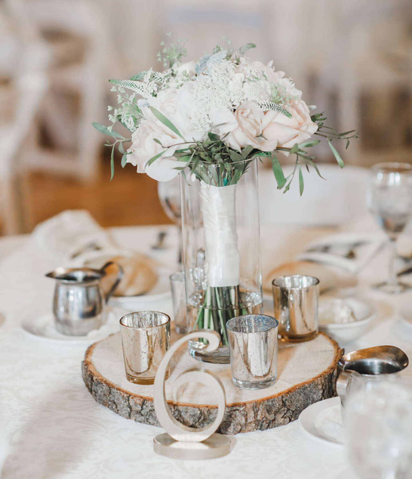 Wooden Center Pieces