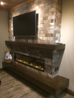 Downtown Fireplace