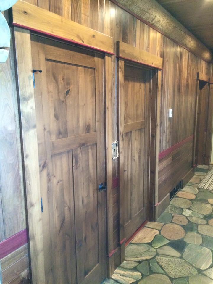 Custom Woodwork Hallway
