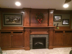 The Wood Shop Cabinets and Fireplace
