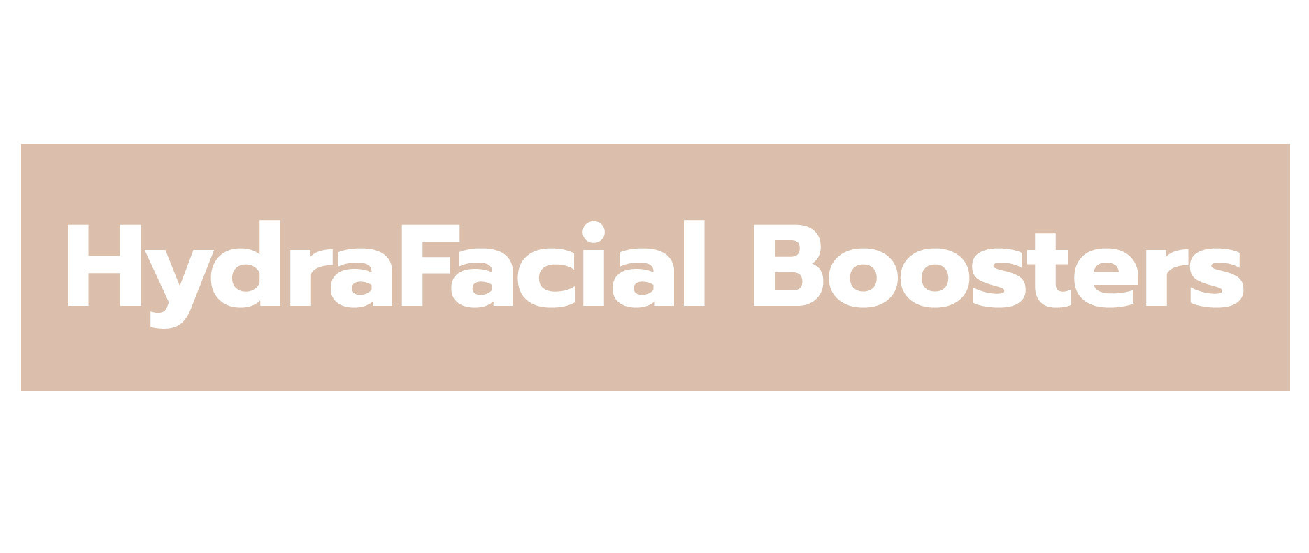 HydraFacial Boosters