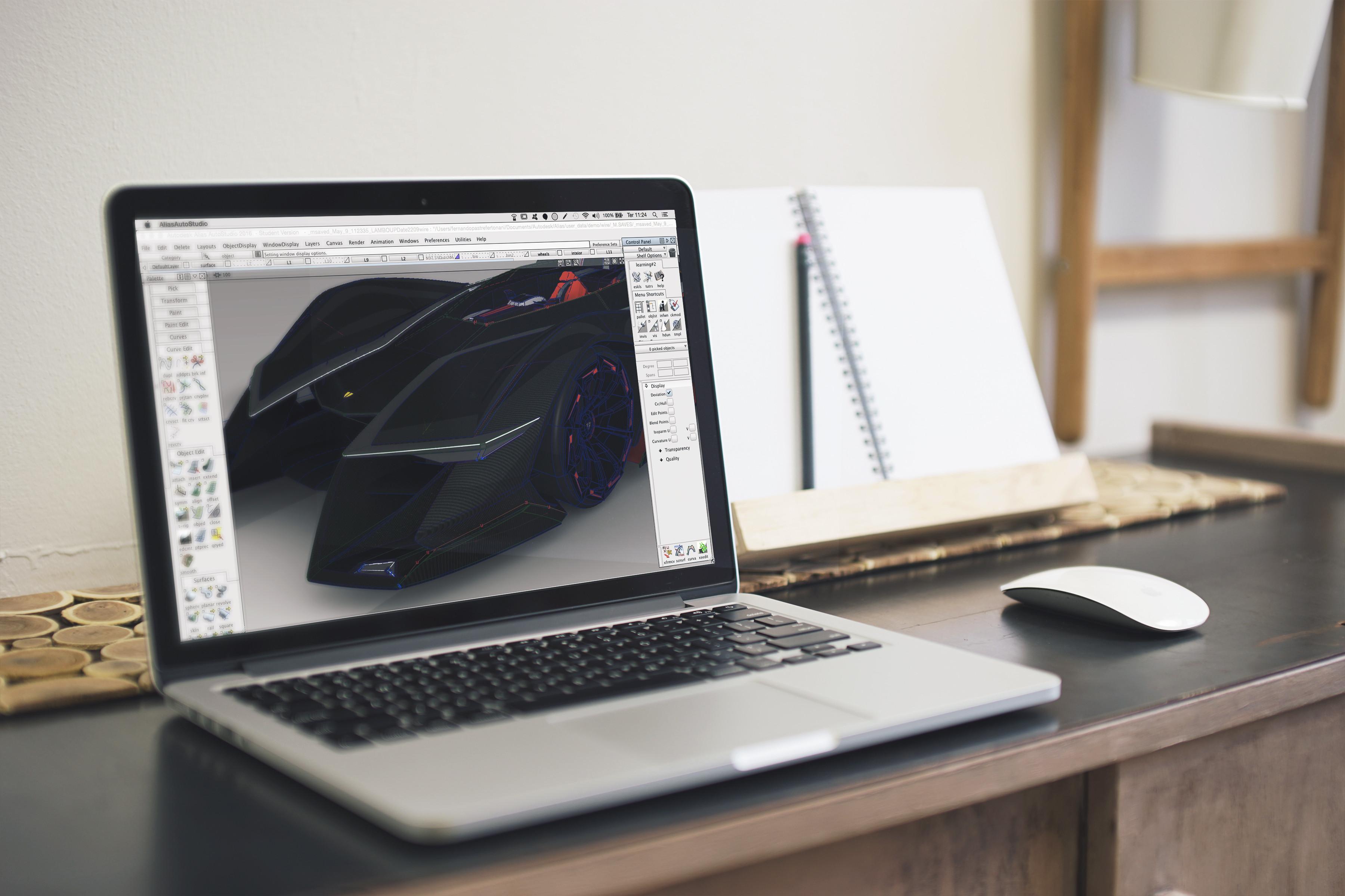 30h - Basics of Autodesk Alias