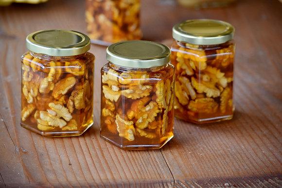Walnut Infused Honey