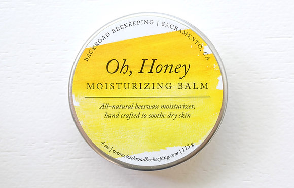 Oh, Honey | Moisturizing Beeswax Balm