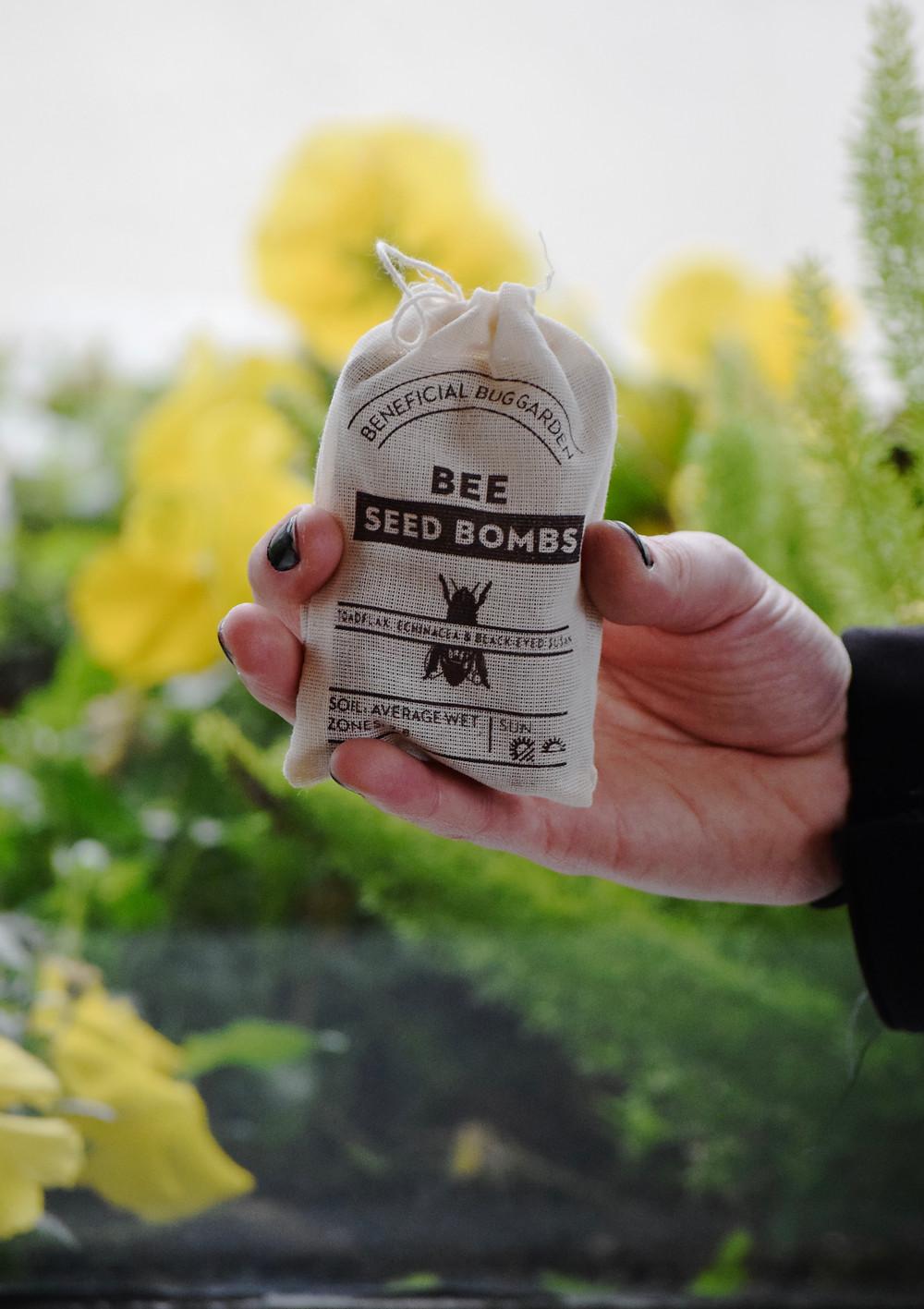 bee seed bomb sacramento