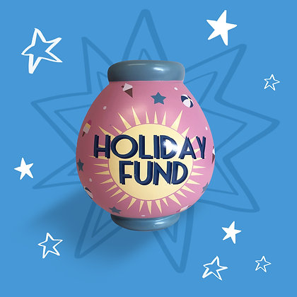 Holiday Fund Money Pot