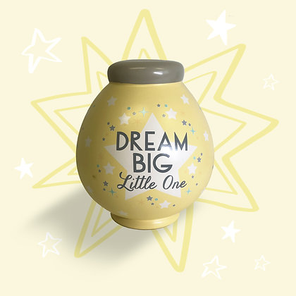 Dream Big Little One Money Pot