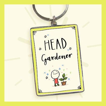 Head Gardener Keyring