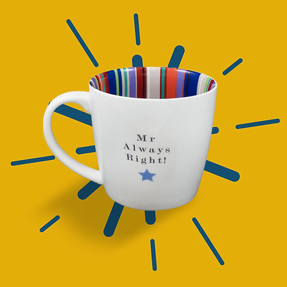Mr Always Right Mug