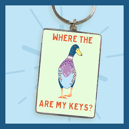 Where the DUCK are my keys? - Keyring
