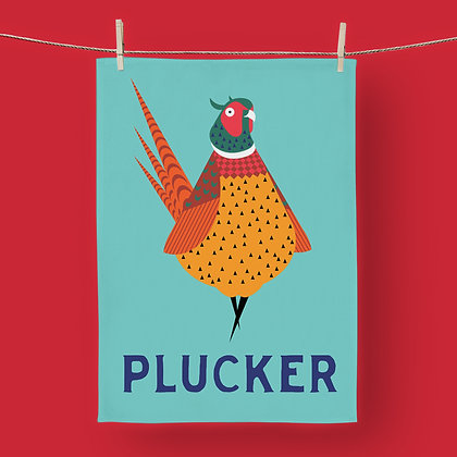 Pheasant Plucker, Tea Towel